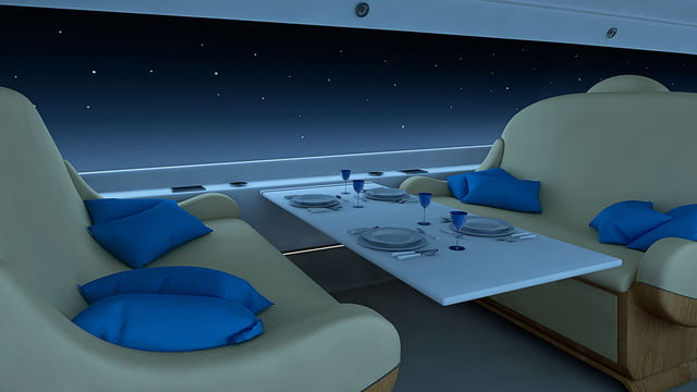 high speed concepts that could mark the return of supersonic travel spike s 512 jet interior night1