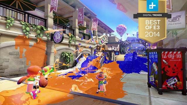 best of e3 2014 splatoon