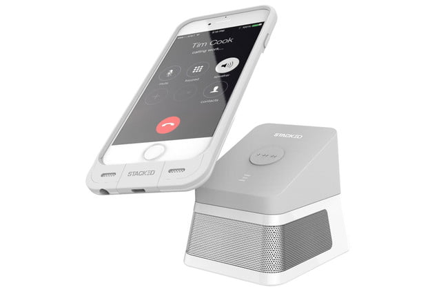 get stackeds new audio solutions and rid of all your wires for the iphone stacked dock 3