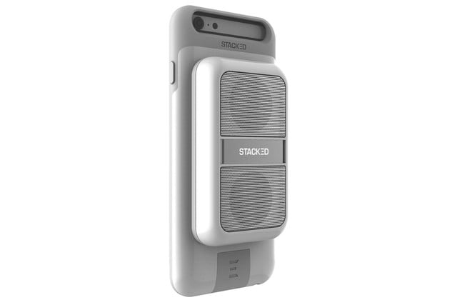 get stackeds new audio solutions and rid of all your wires for the iphone stacked boost speaker 5