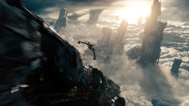 shielding your eyes from the glaring lights of star trek into darkness 004