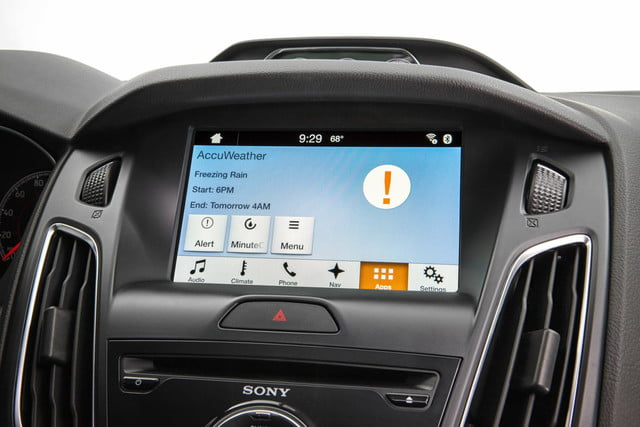 Ford Sync AppLink AccuWeather Weather Alert