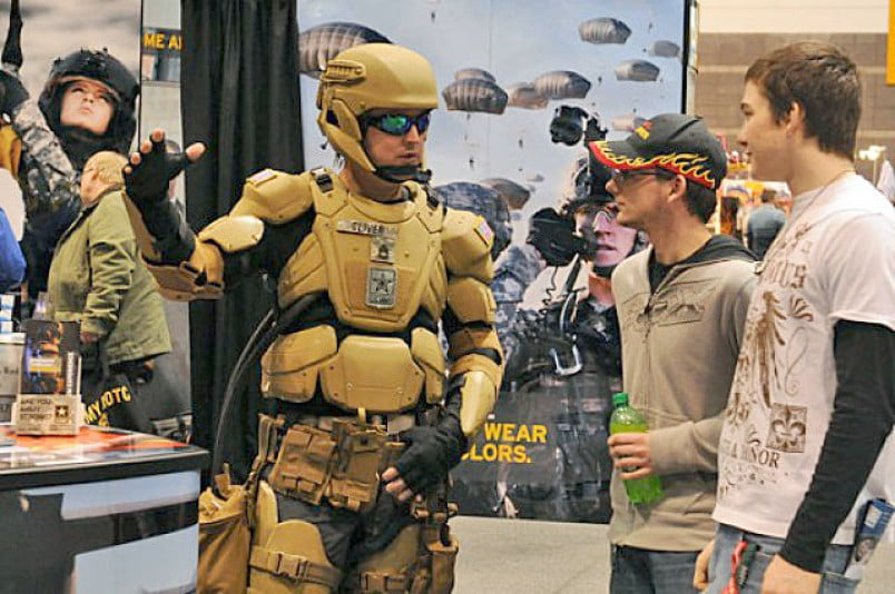 The Department Of Defense Plans To Unveil Its Iron Man