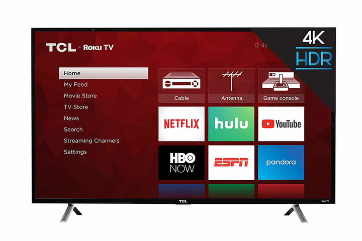 You'd be crazy to miss this incredible deal on a 55-inch TCL 4K TV