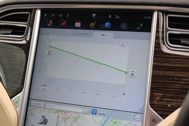 abnormally normal driving the tesla model s p90d 1366