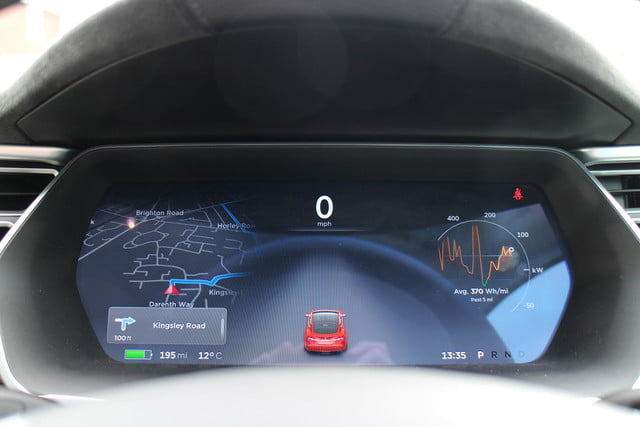 abnormally normal driving the tesla model s p90d 1374