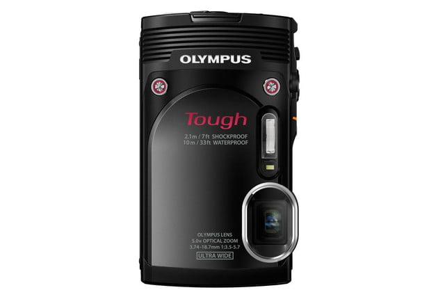 olympus debuts new stylus tg 850 tough camera blk front stand