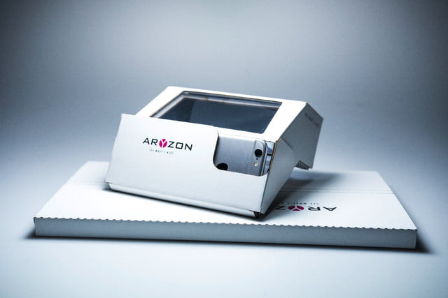 aryzon augmented reality kickstarter the package