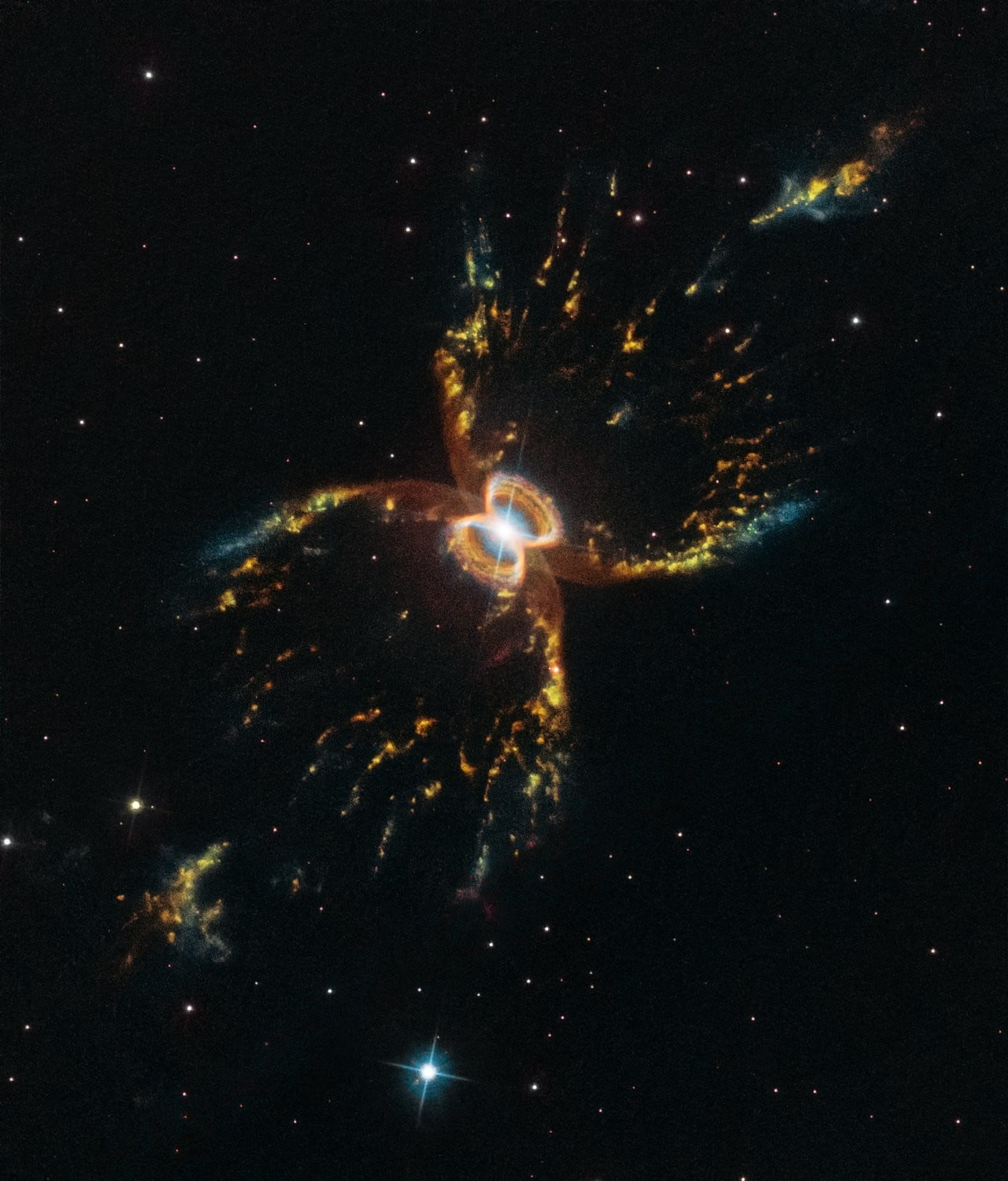 Happy birthday, Hubble! Telescope celebrates with image of Southern Crab Nebula