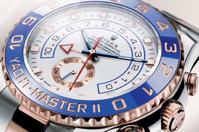 The Manual Wind: Rolex Yachtmaster Everose Gold