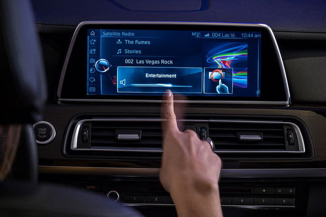 new bmw idrive features touchscreen and gesture recognition the next generation of 5