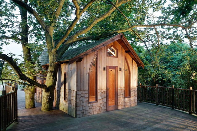 retreat from society and relax in these idyllic cabins around the world nook treehouse 10
