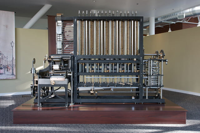 when does an old computer become a historical artifact the charles babbage difference engine no