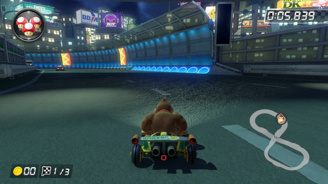 mario kart 8 shortcuts toad s turnpike 1