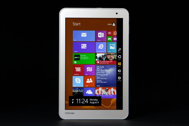 TOSHIBA Encore 2 review screen front vertical