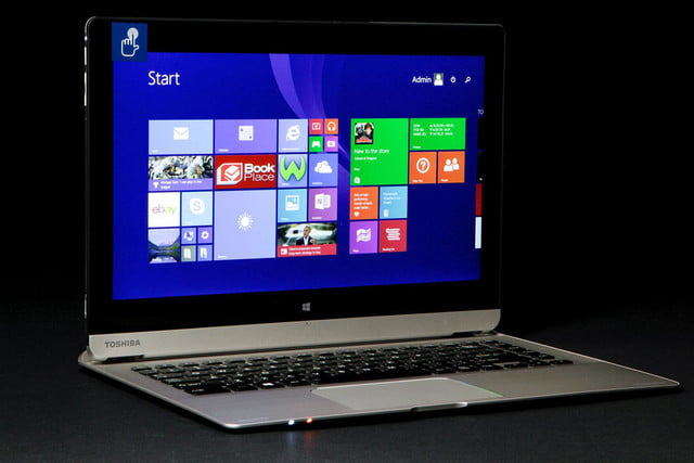 Toshiba Satellite Click 2 Pro P30W BST2N22 front angle