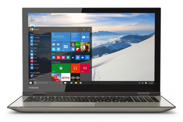 toshiba details new satellite laptops designed for windows 10 fusion 15 l55w angle1