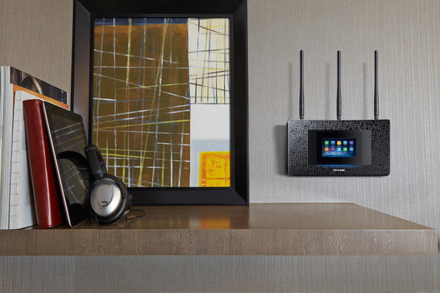 tp link brings user friendly touchscreen latest router touchp505