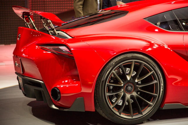 Toyota FT 1 rear macro