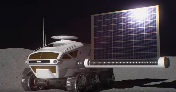 Toyota shoots for the moon with its new lunar rover concept