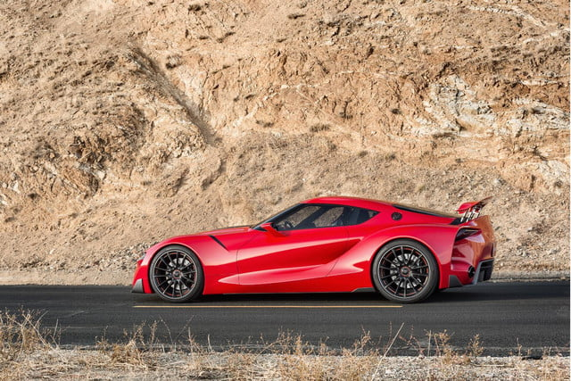 toyota taking detroit auto show storm downright stunning ft 1 concept ft1 exterior 016
