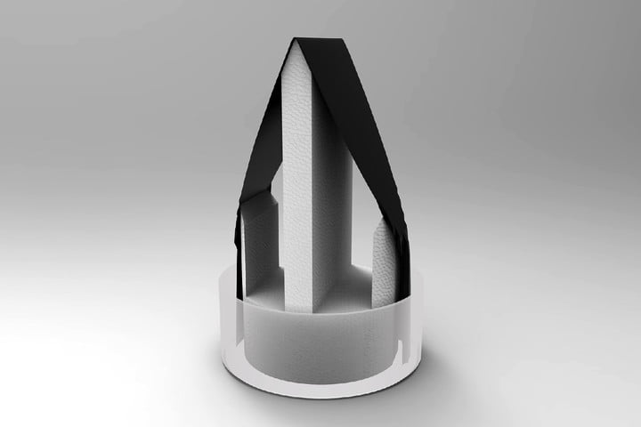 carbon dipped paper water purifier triangular