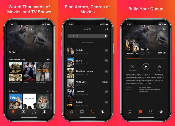 Now you can watch free movies and TV shows with the Tubi TV app