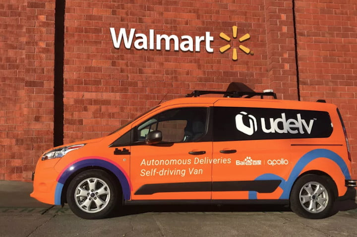robot delivery startup woos walmart for trial run in arizona udelv