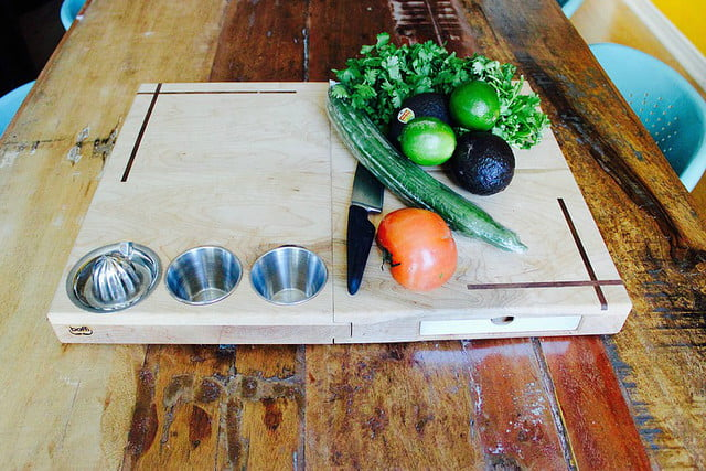 the ultimate cutting board launches on kickstarter ultimage