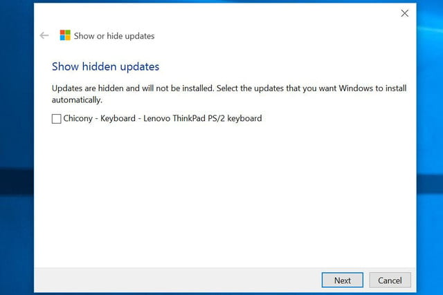 microsoft quietly releases utility to let insiders filter out automatic updates updatefilter showhidden