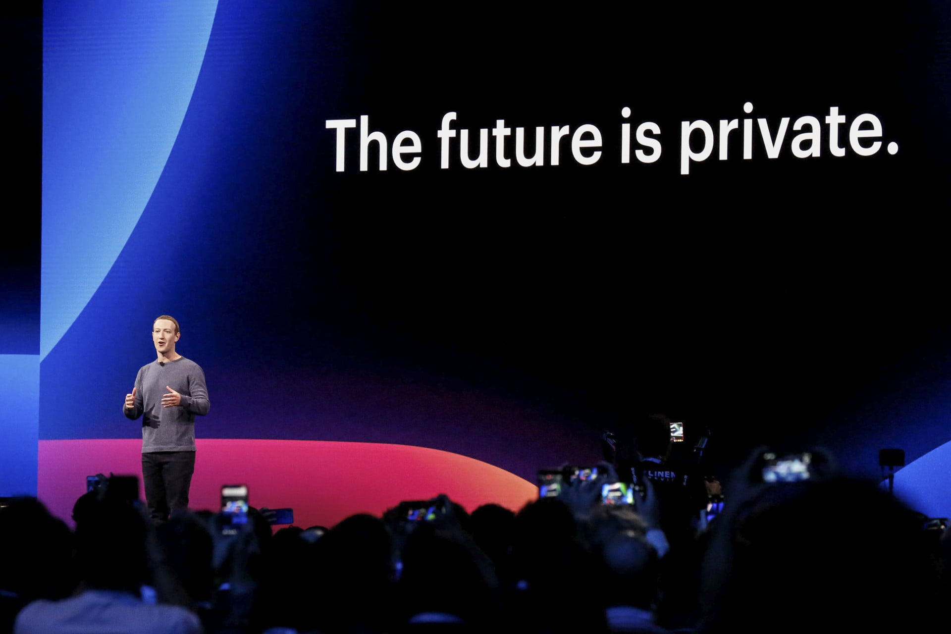 Facebooks First President On Facebook >> Facebook Says The Future Is Private But What Does That Mean