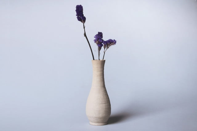 3d clay printer gives bowls vases 21st century spin vase 3