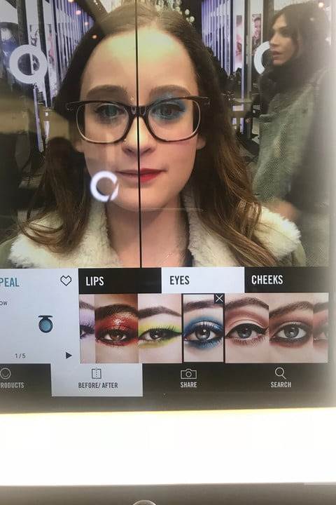 MAC Virtual Try-on Mirror