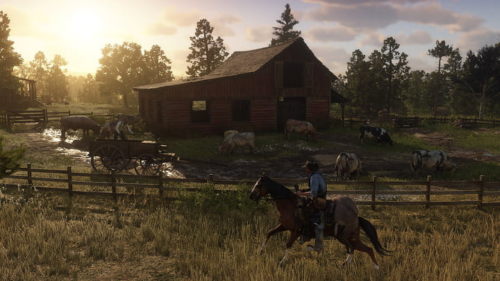 best looking games of 2018 visually stunning red dead redemption 2