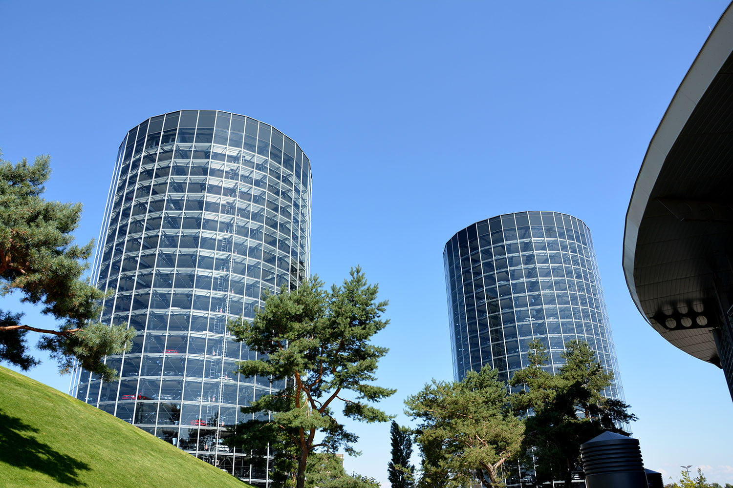 Volkswagen S Autostadt Car Towers Best Car Buildings Ever