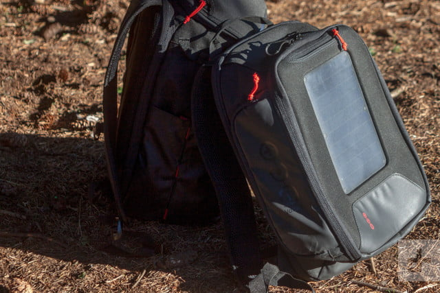 Voltaic OffGrid Solar backpack on ground