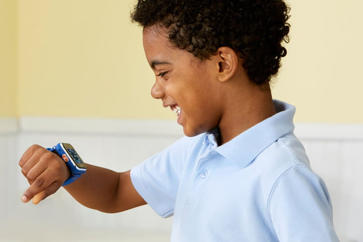 It's no Apple Watch, but the Vtech Kidizoom is a cheap smartwatch for kids