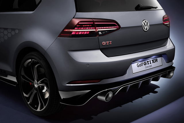 volkswagen gti tcr concept previews 290 horsepower hot hatch vw 5
