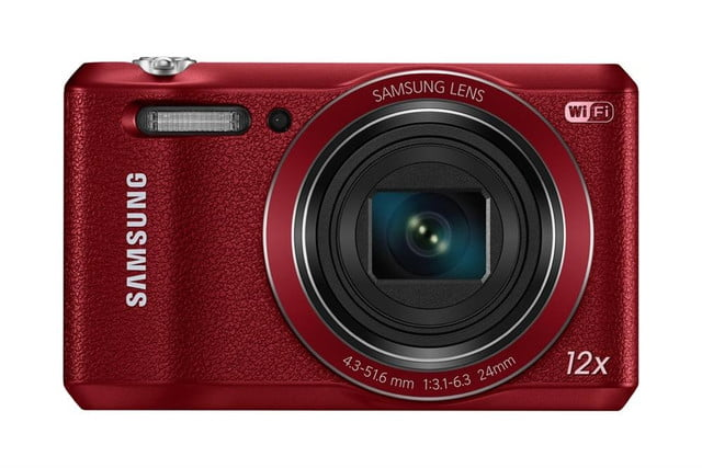 samsung ces 2014 point and shoot cameras wb35f 001 front red