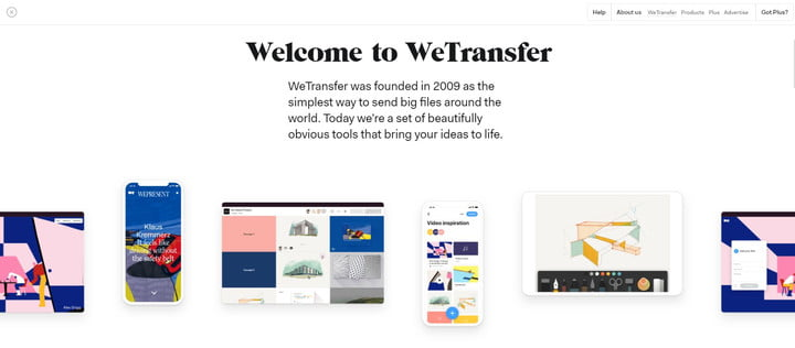 how to send large files for free wetransfer