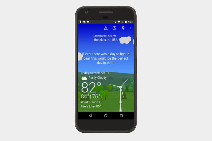 what the forecast best android weather apps