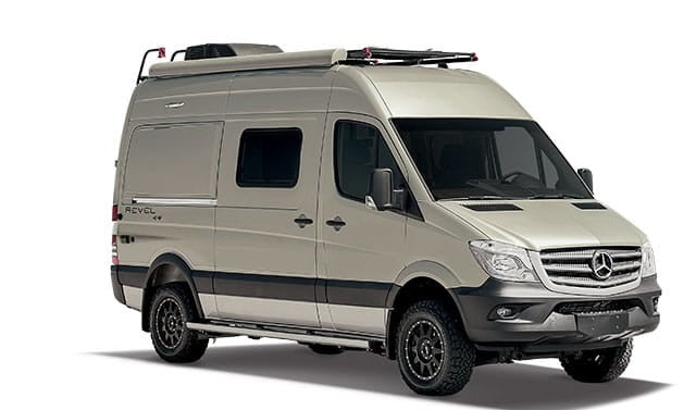 Self Contained Winnebago Revel 4 4 Lets You Stay Wherever You Can