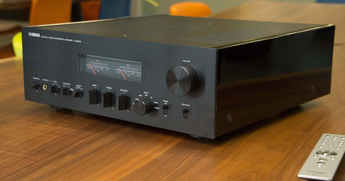 Yamaha a s2100 integrated amp hands on review video for Yamaha integrated amplifier review