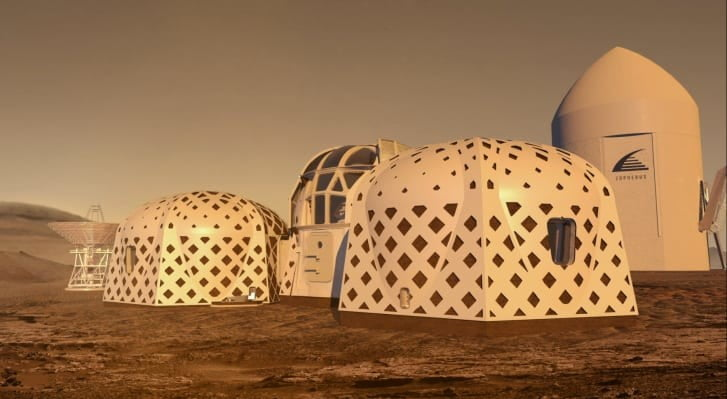 nasa 3d printed habitat finalists zopherus