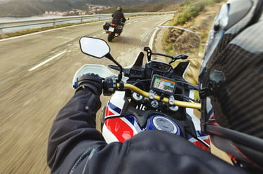 df3c05574ef Garmin is taking motorcycle navigation technology a step further by  incorporating more connectivity features and live alerts into its Zumo line  of products.